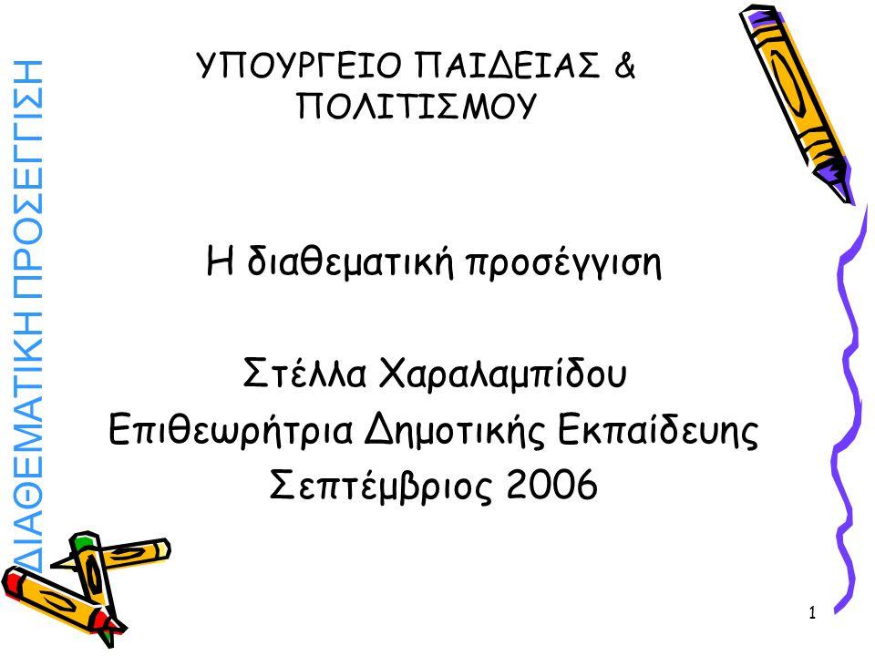 ΥΠΟΥΡΓΕΙΟ ΠΑΙΔΕΙΑΣ & ΠΟΛΙΤΙΣΜΟΥ