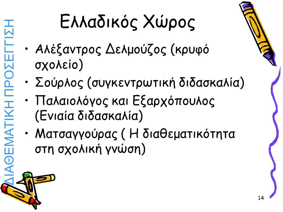 Ελλαδικός Χώρος Αλέξαντρος Δελμούζος (κρυφό σχολείο)