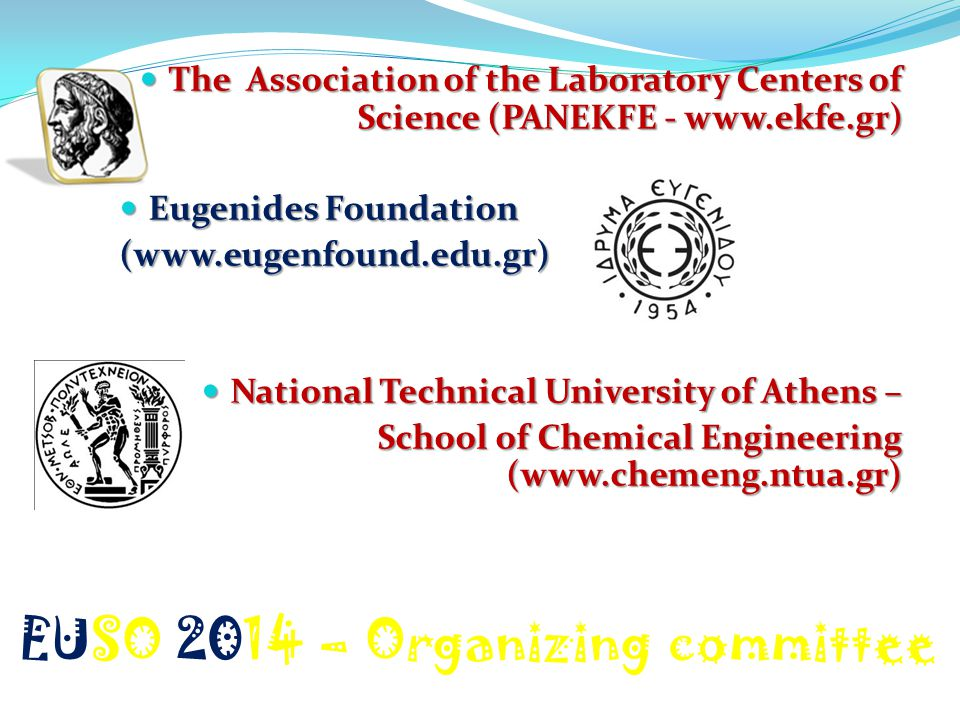 EUSO 2014 – Organizing committee
