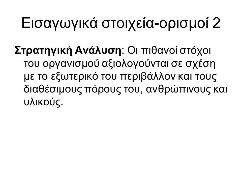 Εισαγωγικά στοιχεία-ορισμοί 2