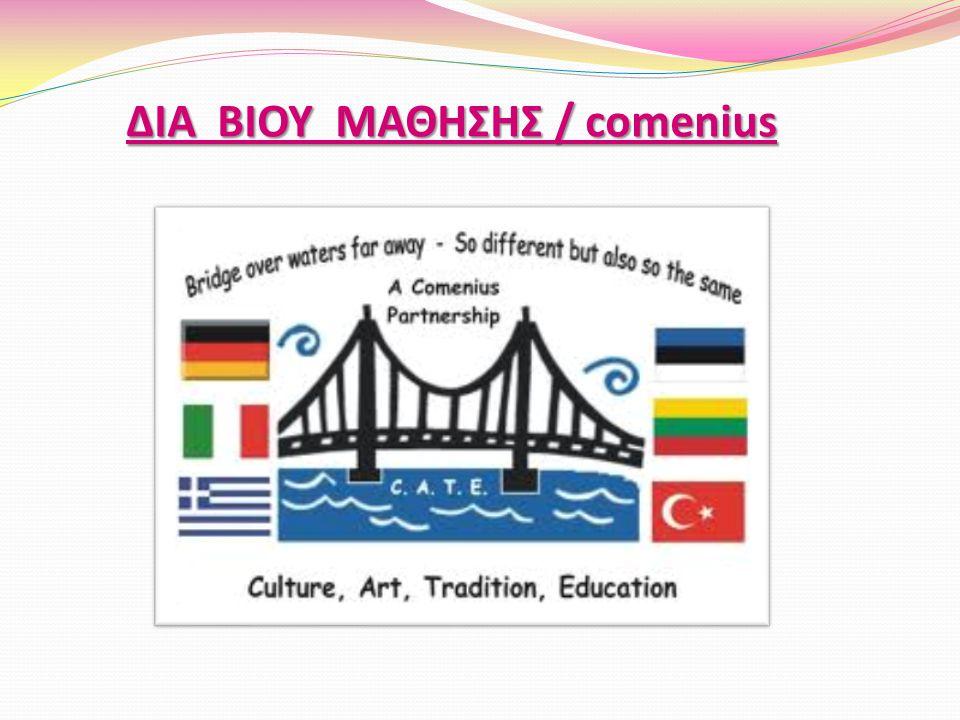 ΔΙΑ ΒΙΟΥ ΜΑΘΗΣΗΣ / comenius