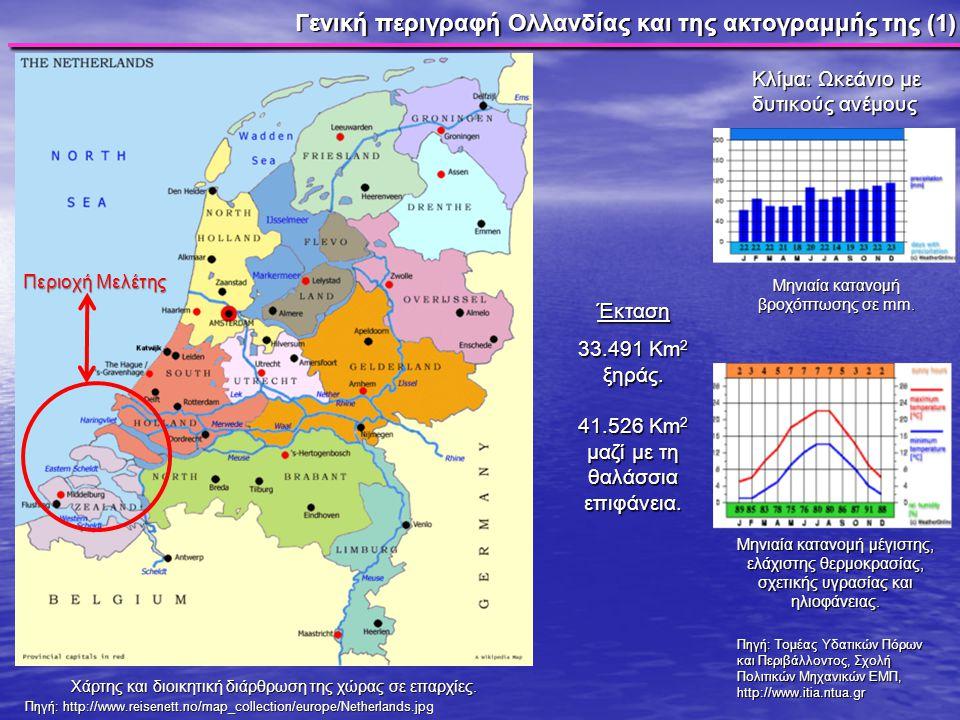 Γενική περιγραφή Ολλανδίας και της ακτογραμμής της (1)