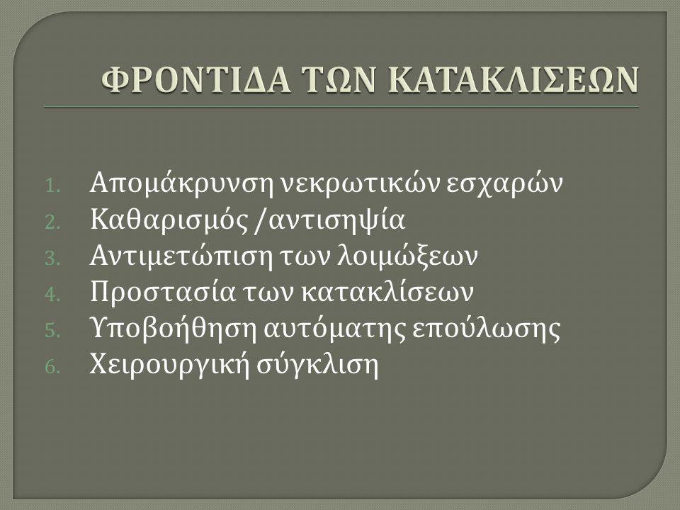 ΦΡΟΝΤΙΔΑ ΤΩΝ ΚΑΤΑΚΛΙΣΕΩΝ