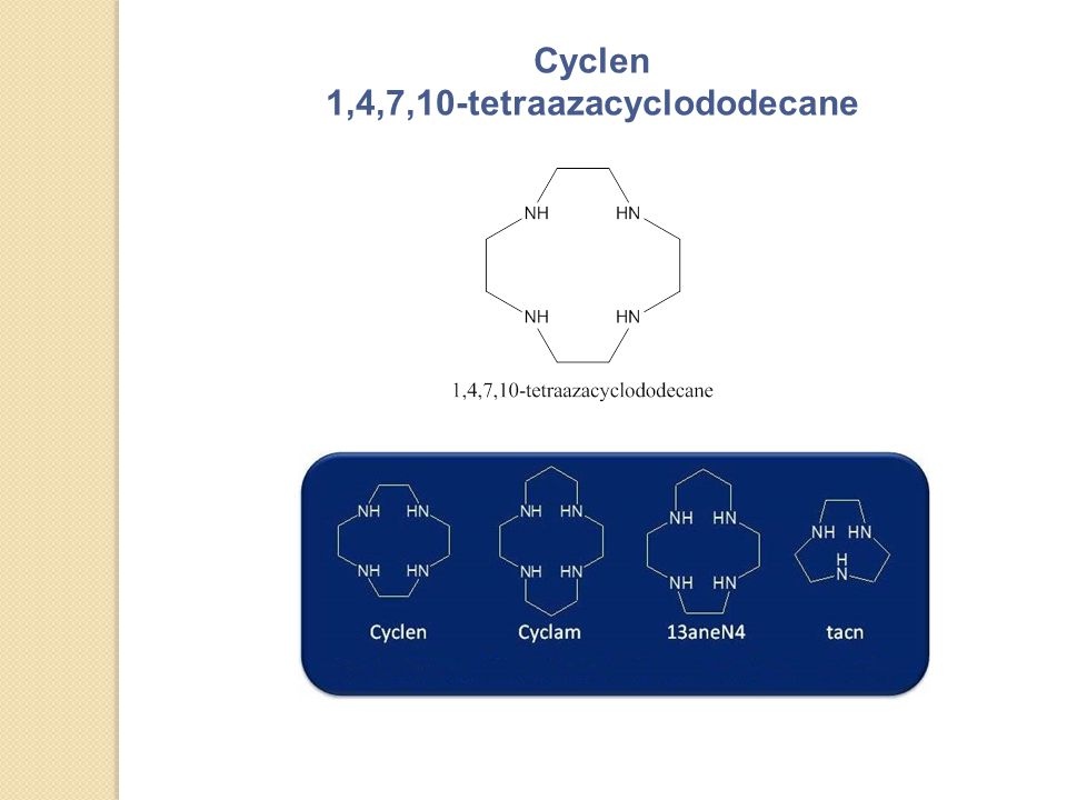 1,4,7,10-tetraazacyclododecane