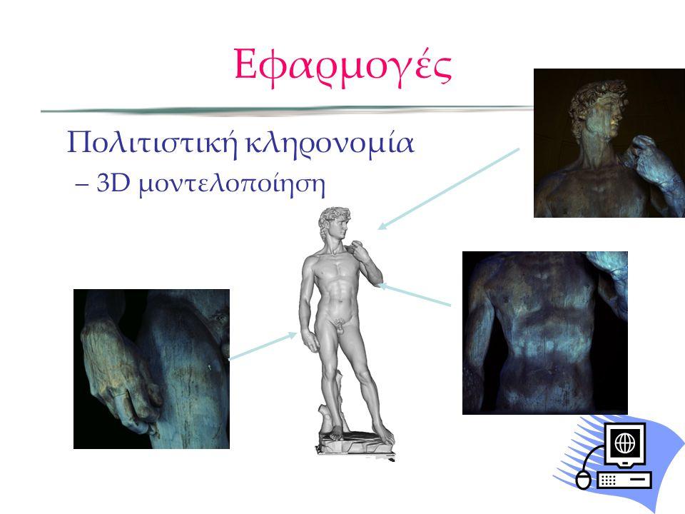Εφαρμογές Πολιτιστική κληρονομία 3D μοντελοποίηση
