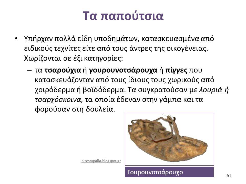 Είδη παπουτσιών (1 από 2)