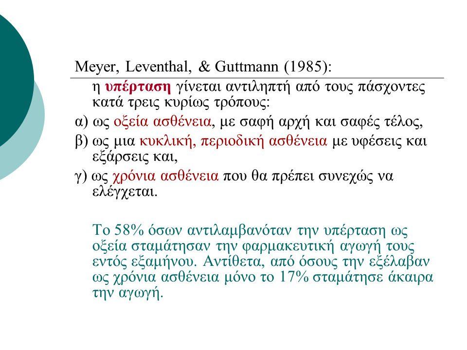 Meyer, Leventhal, & Guttmann (1985):