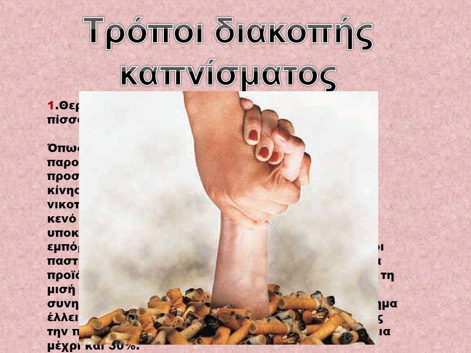 Τρόποι διακοπής καπνίσματος