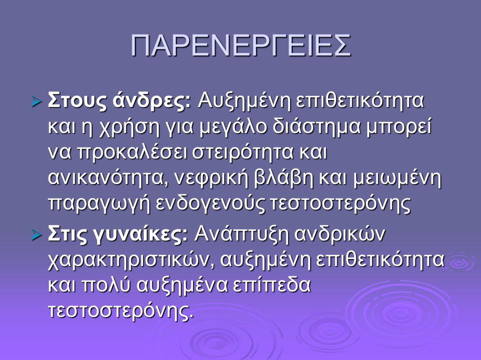 ΠΑΡΕΝΕΡΓΕΙΕΣ
