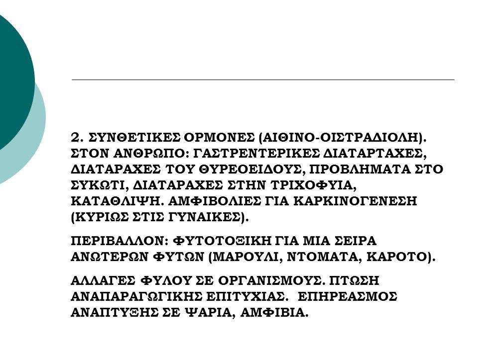 2. ΣΥΝΘΕΤΙΚΕΣ ΟΡΜΟΝΕΣ (ΑΙΘΙΝΟ-ΟΙΣΤΡΑΔΙΟΛΗ)