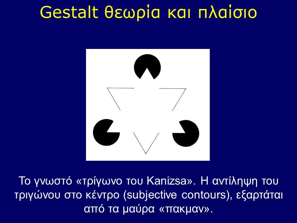 Gestalt θεωρία και πλαίσιο