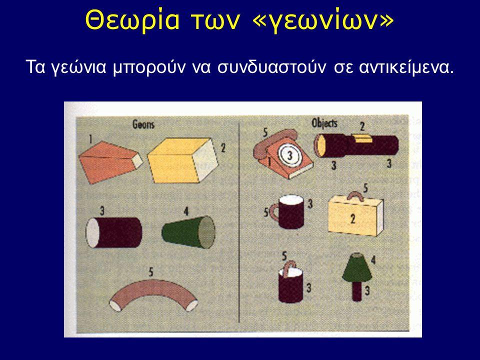 Τα γεώνια μπορούν να συνδυαστούν σε αντικείμενα.