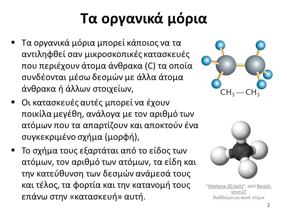 Πόσο διαφορετικά είναι τα οργανικά μόρια από τα ανόργανα;