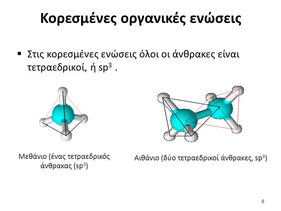 Κορεσμένες οργανικές ενώσεις (συνέχεια)