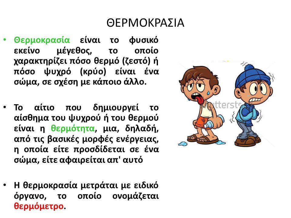ΘΕΡΜΟΚΡΑΣΙΑ
