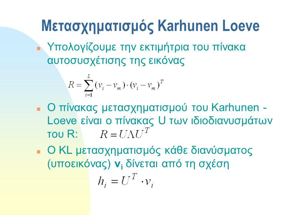 Μετασχηματισμός Karhunen Loeve