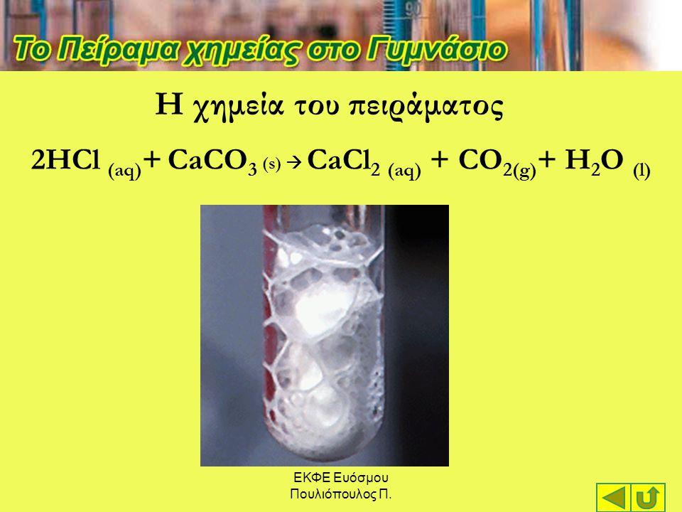 Η χημεία του πειράματος