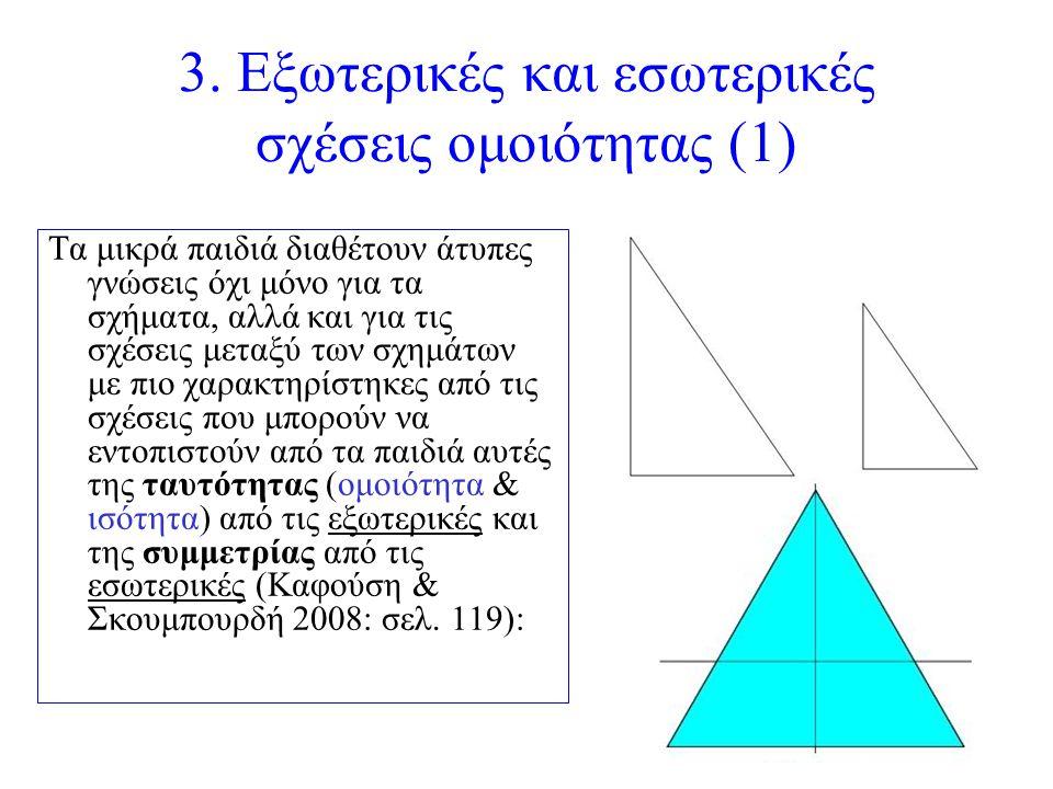 3. Εξωτερικές και εσωτερικές σχέσεις ομοιότητας (1)