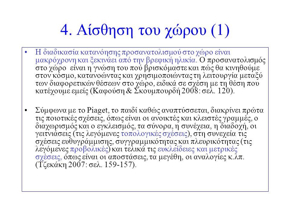 4. Αίσθηση του χώρου (1)