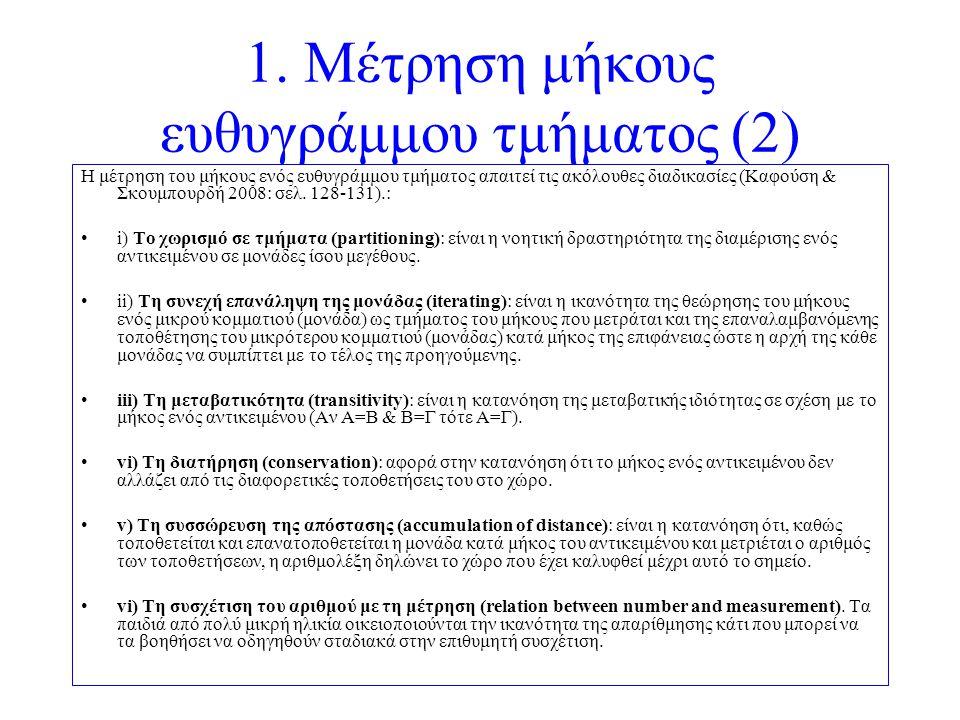1. Μέτρηση μήκους ευθυγράμμου τμήματος (2)