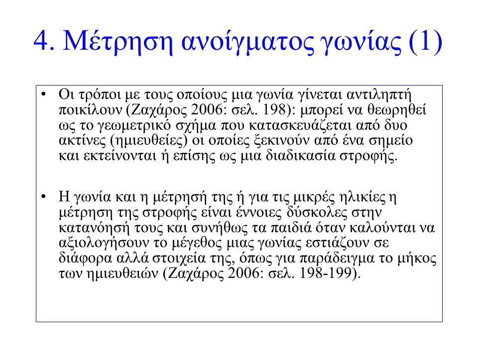 4. Μέτρηση ανοίγματος γωνίας (1)