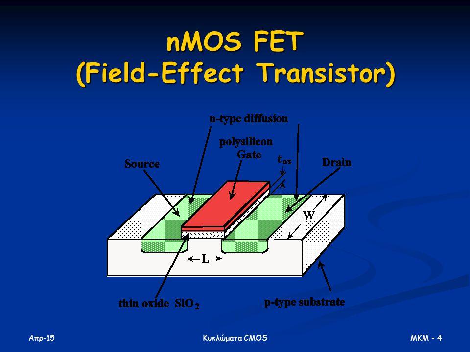 nMOS FET (Field-Effect Transistor)