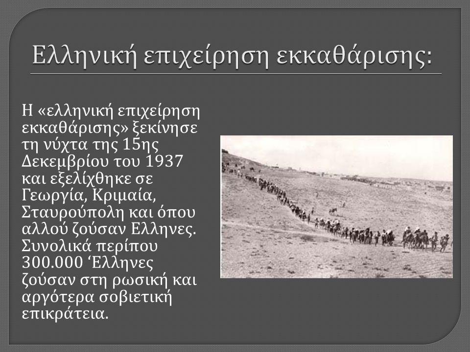 Ελληνική επιχείρηση εκκαθάρισης: