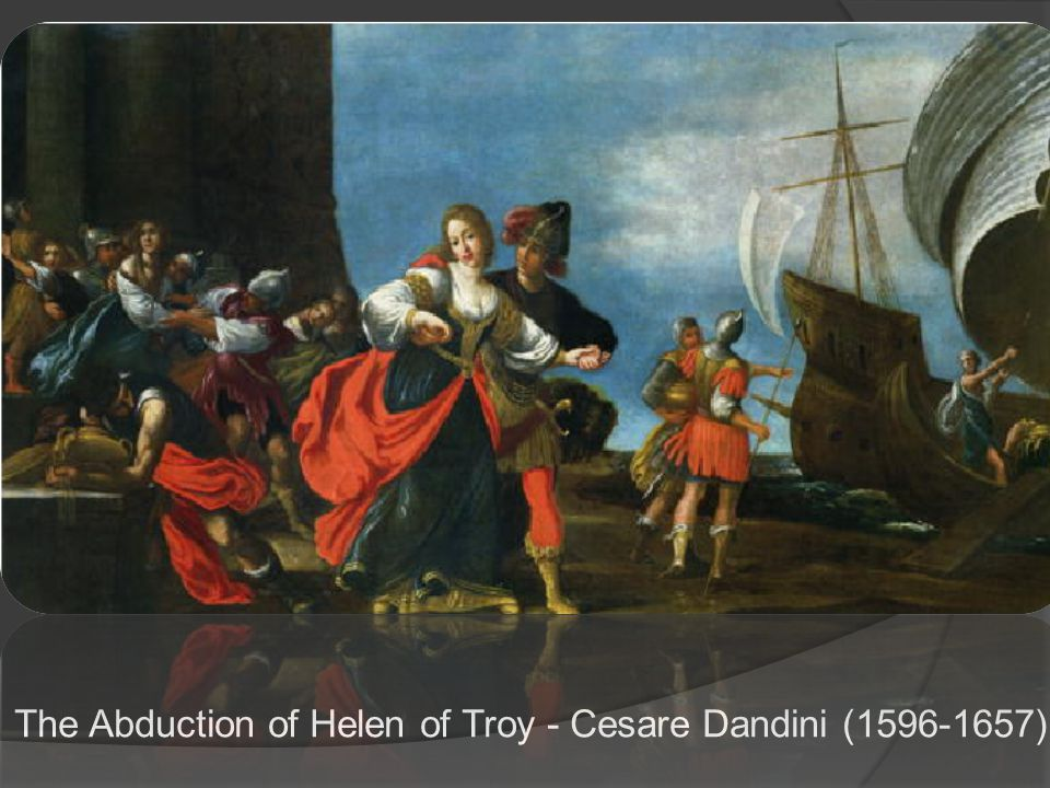 The Abduction of Helen of Troy - Cesare Dandini (1596-1657)