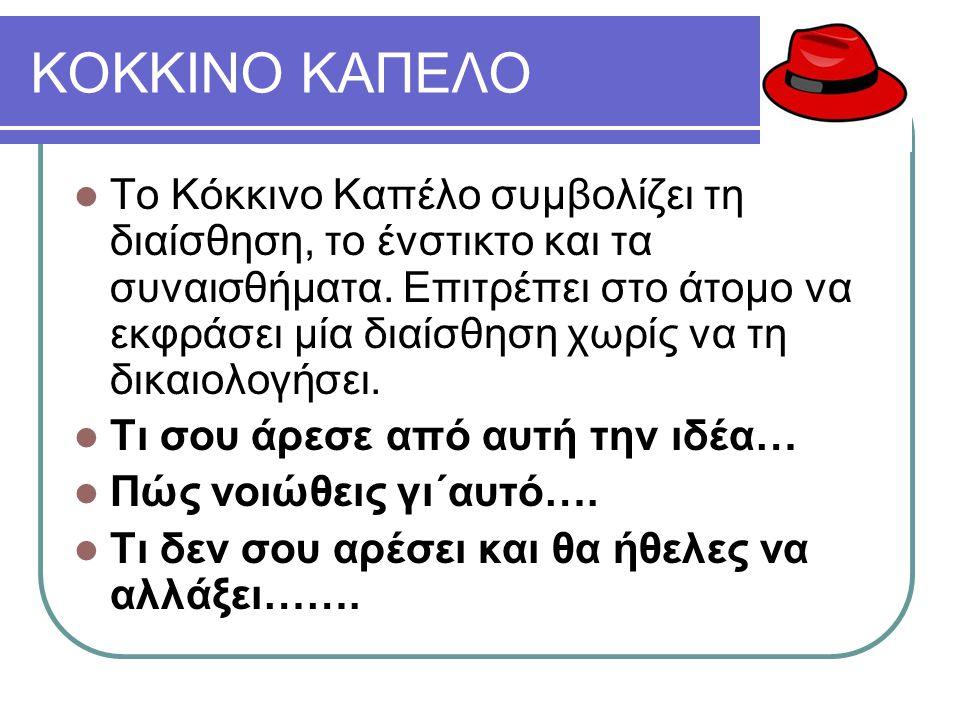 ΚΟΚΚΙΝΟ ΚΑΠΕΛΟ