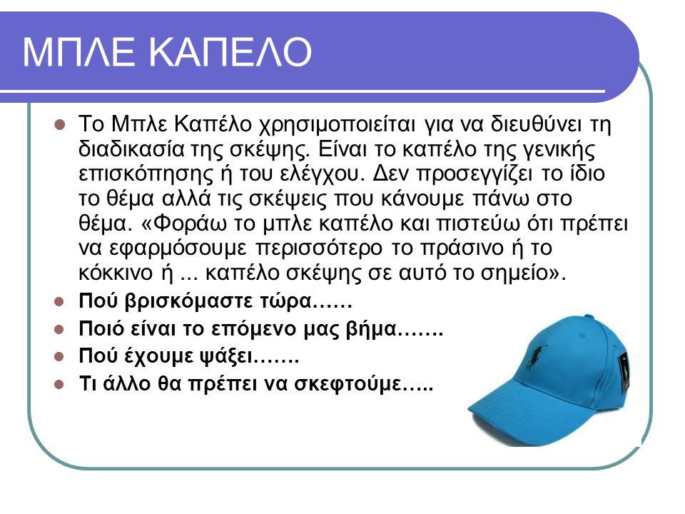 ΜΠΛΕ ΚΑΠΕΛΟ