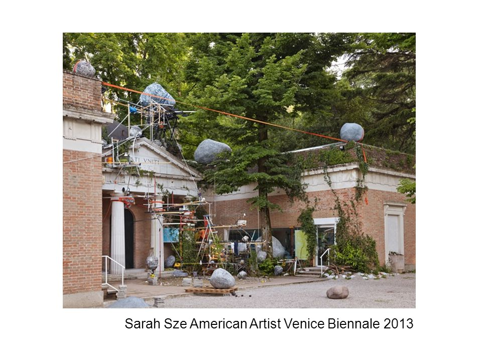 Sarah Sze American Artist Venice Biennale 2013