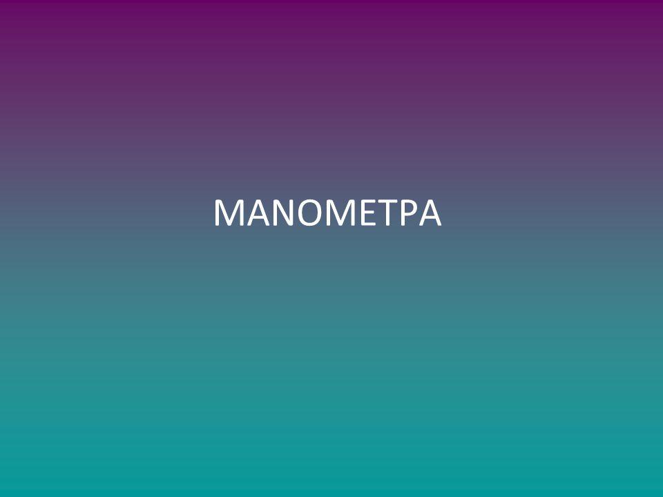 ΜΑΝΟΜΕΤΡΑ
