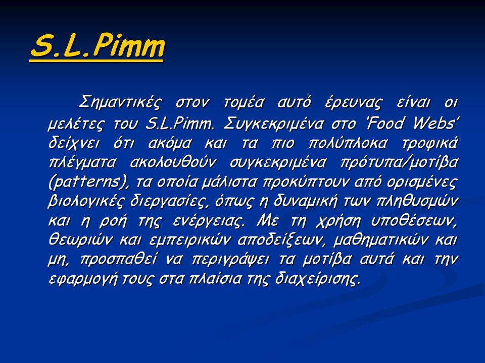 S.L.Pimm
