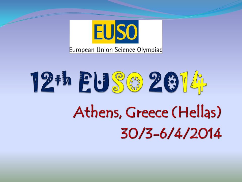 Athens, Greece (Hellas) 30/3-6/4/2014