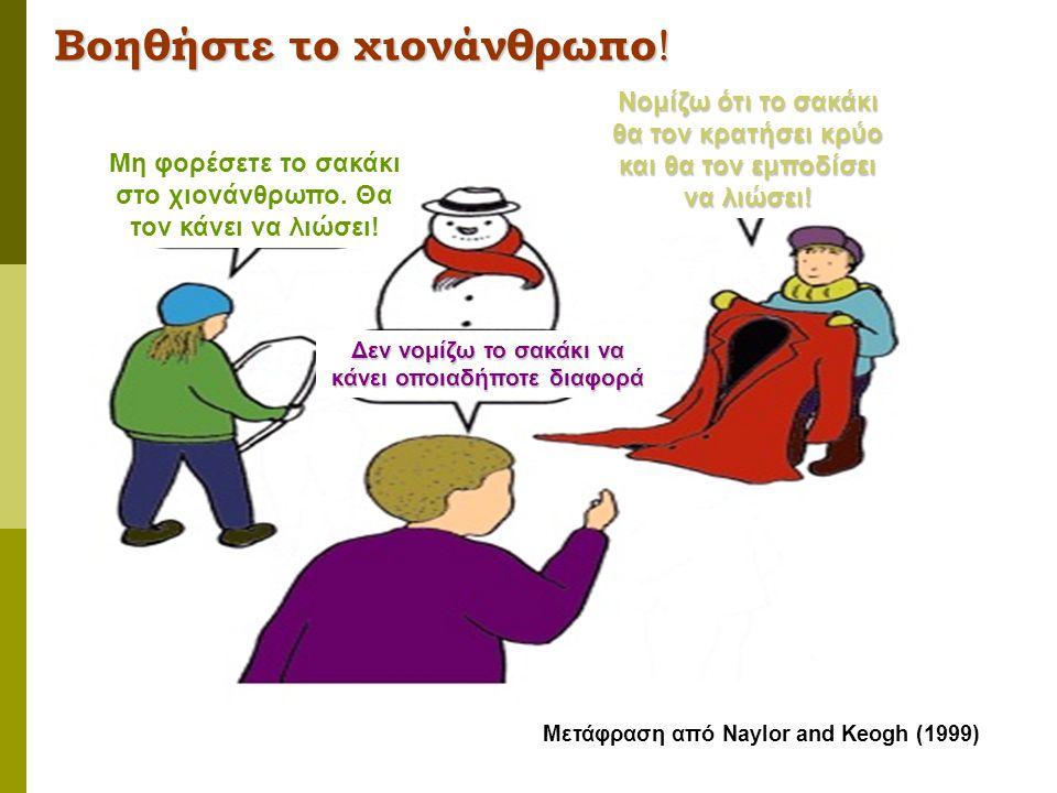 Βοηθήστε το χιονάνθρωπο!