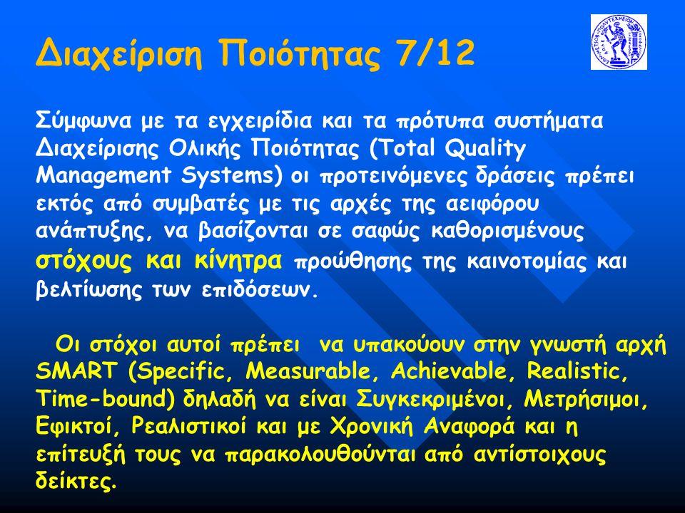 Διαχείριση Ποιότητας 7/12