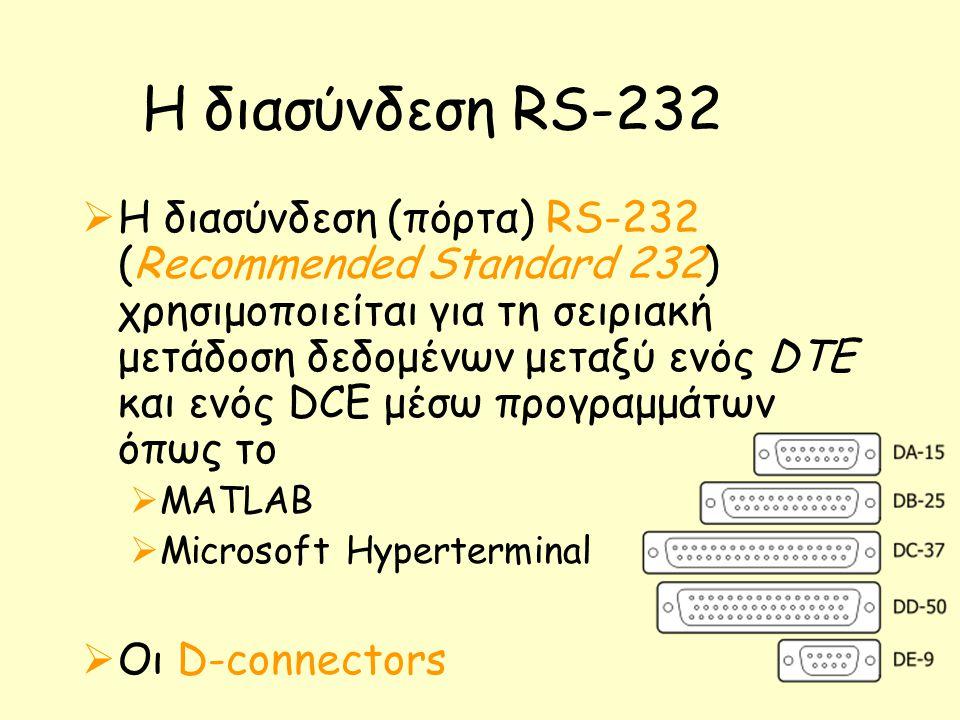Η διασύνδεση RS-232