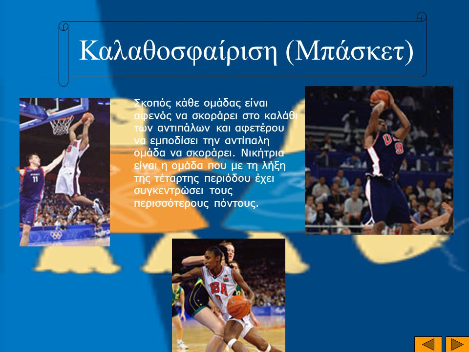 Καλαθοσφαίριση (Μπάσκετ)