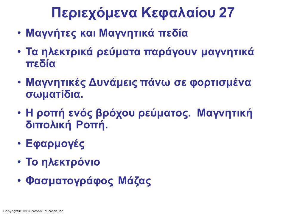 Περιεχόμενα Κεφαλαίου 27