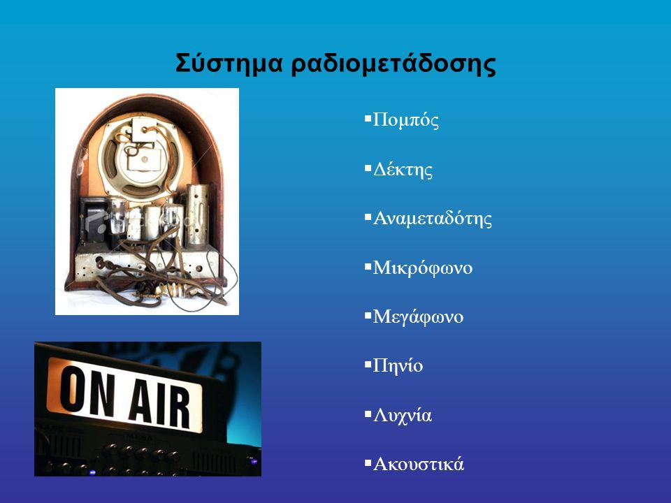 Σύστημα ραδιομετάδοσης