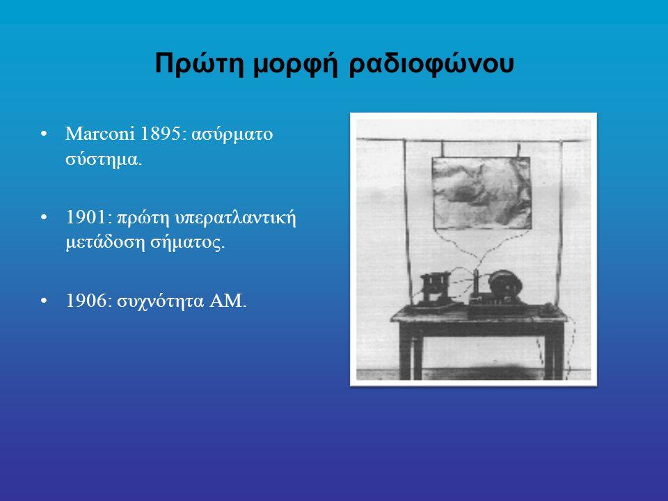 Πρώτη μορφή ραδιοφώνου