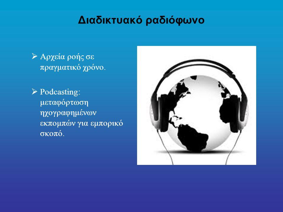 Διαδικτυακό ραδιόφωνο