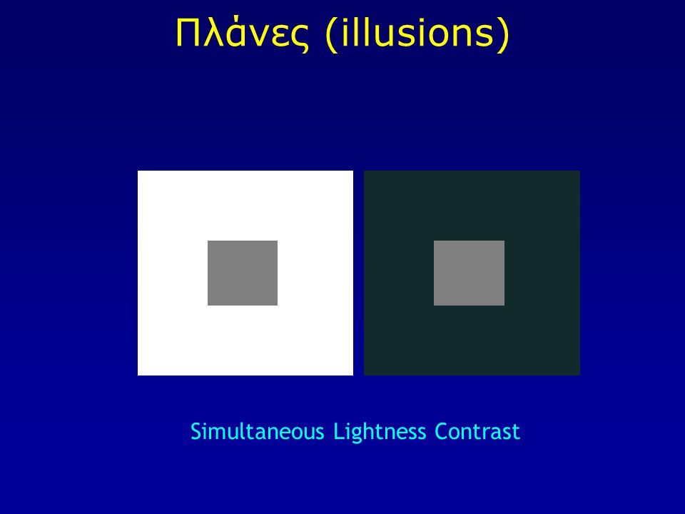 Simultaneous Lightness Contrast