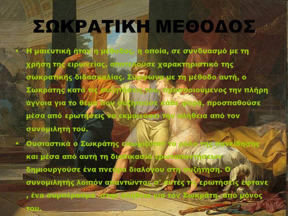 ΣΩΚΡΑΤΙΚΗ ΜΕΘΟΔΟΣ