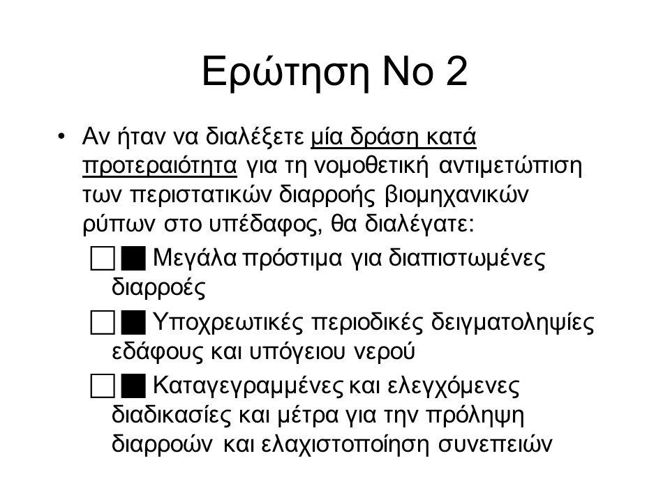 Ερώτηση Νο 2