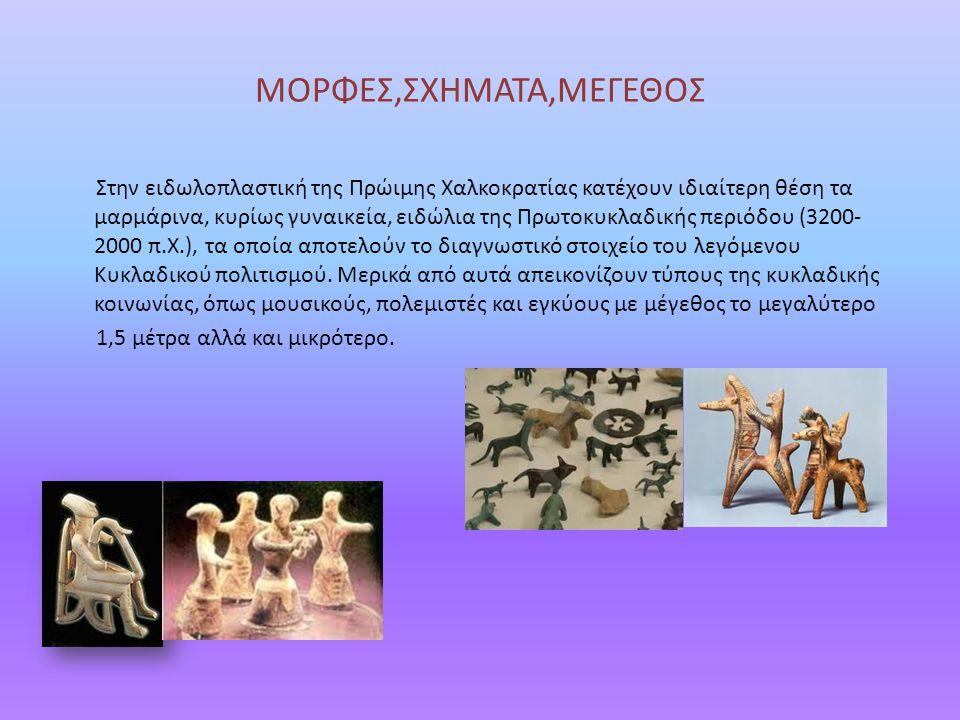 ΜΟΡΦΕΣ,ΣΧΗΜΑΤΑ,ΜΕΓΕΘΟΣ