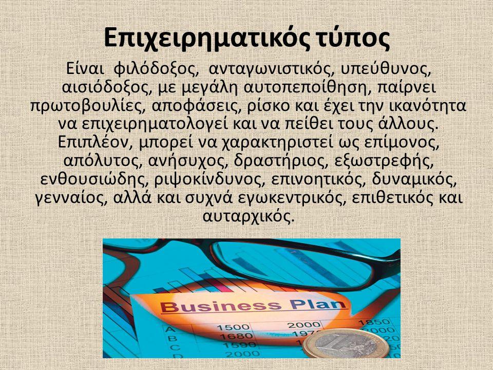 Επιχειρηματικός τύπος
