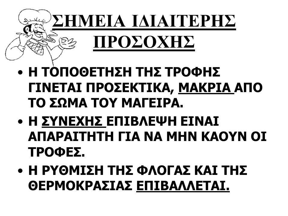 ΣΗΜΕΙΑ ΙΔΙΑΙΤΕΡΗΣ ΠΡΟΣΟΧΗΣ