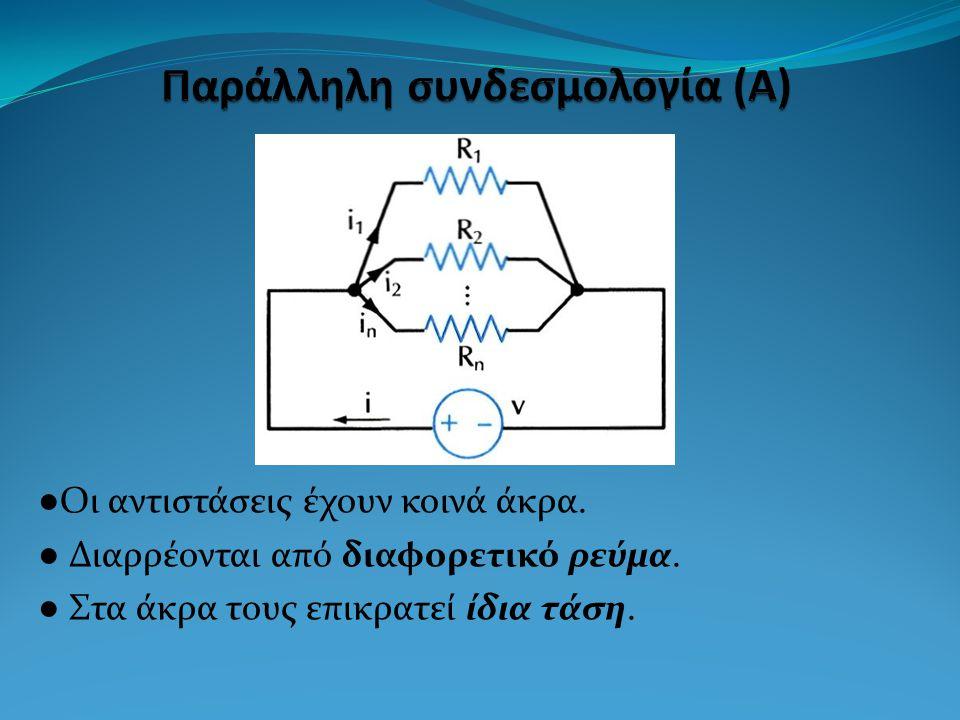 Παράλληλη συνδεσμολογία (Α)