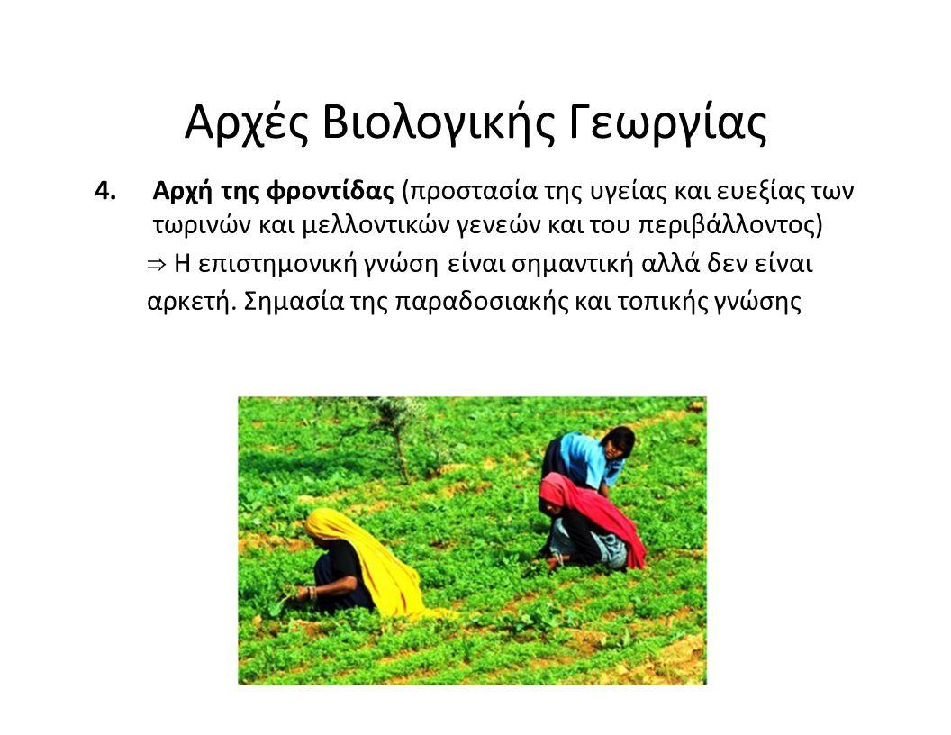 Αρχές Βιολογικής Γεωργίας